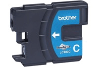 Brother LC980 Cyan Ink Cartridge LC980C