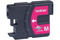 Brother LC980 Magenta Ink Cartridge LC980M