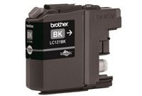 מחסנית דיו שחור Brother Black LC121BK INK Cartridge SKU LC121BK