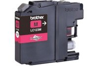 מחסנית דיו אדום Brother Magenta LC123-M INK Cartridge sku LC123M