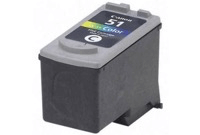 "מחסנית דיו צבע 51 מק""ט Canon 51 Tri Color InkJet Cartridge sku CL-51"