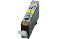 "מחסנית דיו צהוב 521 מק""ט Canon 521 Yellow INK cartridge SKU CLI-521-Y"