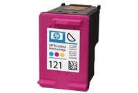 HP 121 Tri-color Ink Cartridge CC643HE