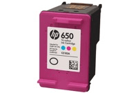 HP 650 Tri-color Ink Cartridge CZ102AE