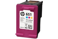 HP HP 651 Tri-color Ink Cartridge C2P11AE
