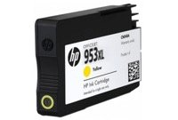 "דיו צהוב HP 953XL מק""ט HP yellow 953XL Ink cartridge sku HP F6U18AE"