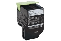 "טונר שחור לקסמרק 708HK מק""ט 708HK Black Toner cartridge sku 70C8HK0"
