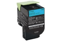"טונר כחול לקסמרק 808XC מק""ט 808XC Cyan Toner Cartridge sku 80C8XC0"