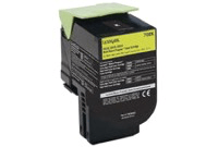 "טונר צהוב לקסמרק 808XY מק""ט 808XY Yellow toner cartridge sku 80C8XY0"