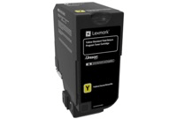 LEXMARK Yellow Toner Cartridge 74C2SY0