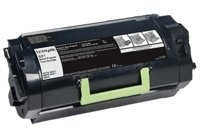 "מחסנית טונר לקסמרק 525H מק""ט 525H Toner cartridge Lexmark 52D5H00"